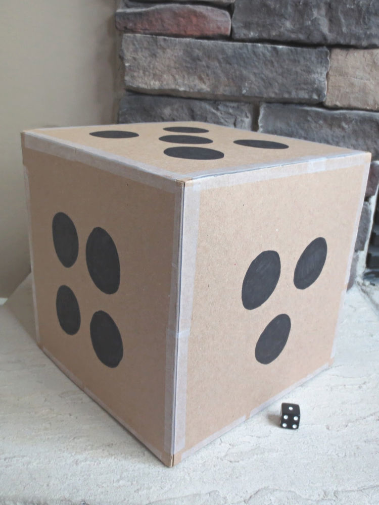 Add excitement and variety to your class with this DIY giant dice - easy to make, and suprisingly durable. Includes several great classroom dice game ideas.