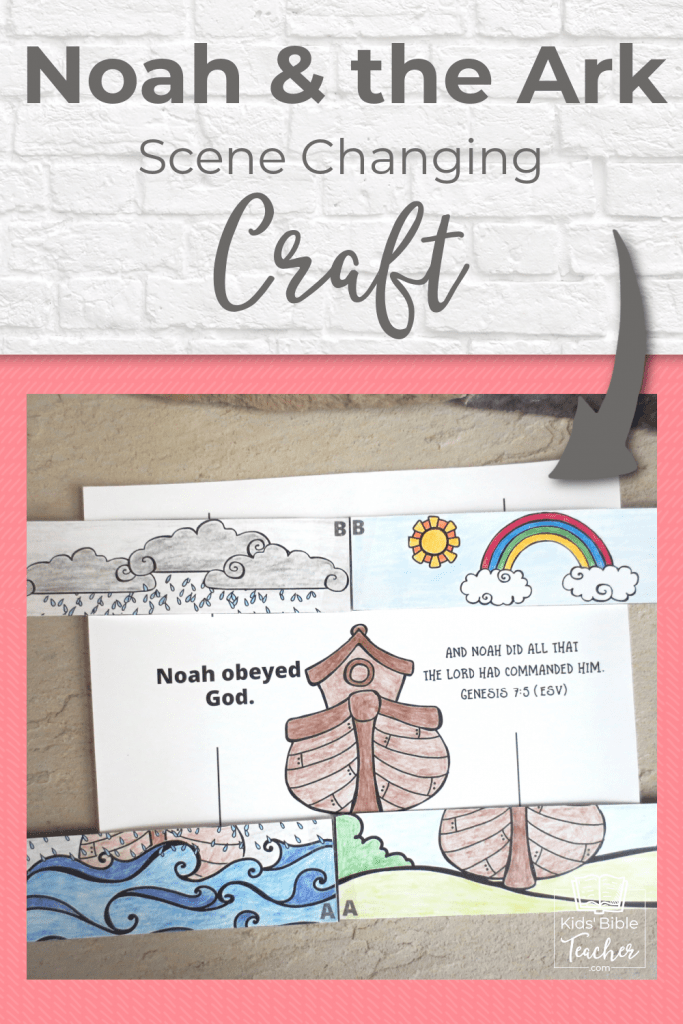 Your kids can retell the story of Noah and the ark with this movable Noah's Ark craft - simple to make and fun to play with. Free printables included.
